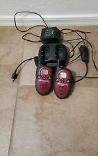MIDLAND FRS G225 2 WAY RADIOS AND CHARGER NEW BATTERIES cobra microphone include