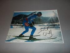 Dominik Windisch Italien Biathlon signiert signed Autogramm auf 20x28 Foto in p.