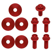 Screws Bolts of Front Fender Number Plate For Honda CRF450R 2005 2006 2007 2008