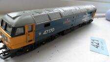 OO gauge class 47 Diesel locomotive ( non-runner) Spares or repair
