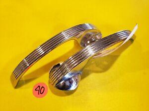 1940 FORD INTERIOR DELUXE DOOR HANDLES   NICE REPLACEMENTS FLATHEAD V8