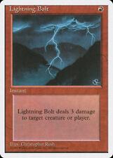 MTG X4: Lightning Bolt, 4th Edition, C, Heavy Play - FREE US SHIPPING!