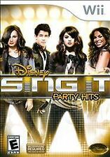 Nintendo Wii : Disney Sing It: Party Hits VideoGames