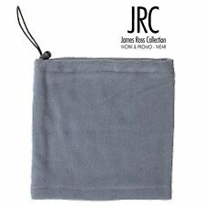 JAMES ROSS paracollo scaldacollo PILE antipilling necker GRIGIO + 7 colori JRC