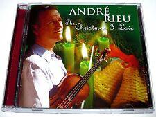 cd-album, Andre Rieu - The Christmas I Love, 20 Tracks, Australia