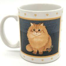 Herrero Vandor Vintage Cat Mug Orange Long-hair Looking Regal - Posing Beauty