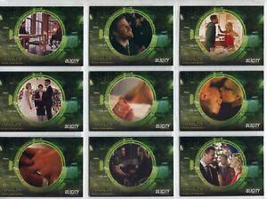 Arrow Season 4 Complete 9 Card Chase Set Olicity