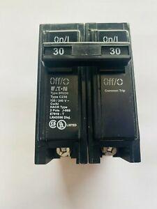 EATON Cutler-Hammer BR230 2 Pole 120/240V 30 Amp Circuit Breaker New