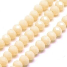 38 PERLEN aus JADE Halbedelsteine Rund weiß 10mm nenad-design E061