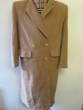 Genuine Vintage Burberry Prorsum Wool Trenchcoat Raincoat coat UK 12 Euro 40