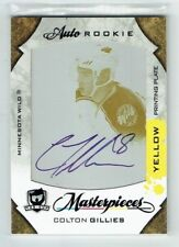 08-09 UD The Cup  Colton Gillies  1/1  The Cup Printing Plate  Auto  Rookie