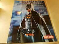 Batman game gear poster very good conditions, rare poster