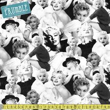 Robert Kaufman Tessuto Marilyn Monroe tutta PLATINUM PER METRO PIN UP con licenza
