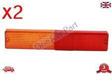 2x Rear Light Lamp LENS (RH/LH) for Massey Ferguson, Cobo, Landini - S.71008 New