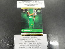 2016/17 CRICKET TAP N PLAY GOLD CARD NO.139 GLENN MAXWELL MELBOURNE STARS