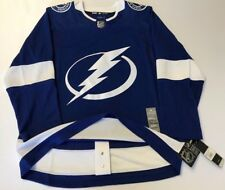 TAMPA BAY LIGHTNING size 50 = sz Medium ADIDAS HOCKEY JERSEY Climalite Authentic
