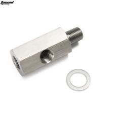 "Metric Adapter Oil Pressure sensor 1/8"" NPT female X M10 M10X1 male & Female Tee"