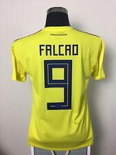 FALCAO #9 BNWT Colombia Home Football Shirt Soccer Jersey 2018/19 (M)