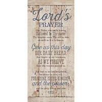 NEW Dexsa Lord'S Prayer New Horizons Wood Plaque DX8809