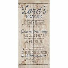 NEW Dexsa Lord'S Prayer New Horizons Wood Plaque DX8809