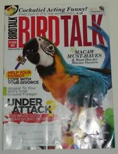 *BIRD TALK MAGAZINE Oct 09 Macaw Cockatiel Foraging Dove Behavior Training