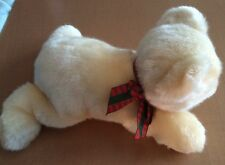RBI Ron Banafota Polar Bear Plush with Christmas Ribbon 14""