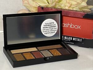 Smashbox Cover Shot: Major Metals Eye Palette Strike It Rich -Rose Garnet - NIB