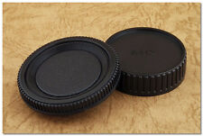 Lens Cap Set Minolta Seagull MD MC SR Mount Body + Rear Cap X700 XE XD X500 SRT