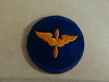 MILITARY PATCH US ARMY COLORED FOR SHOULDER SEW ON WW2 AIR FORCE CADET AVIATION
