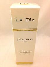 LE DIX BALENCIAGA 6.7oz - 200ml GENTLE FOAMING GEL (Shower Gel) NEW SEALED (B11