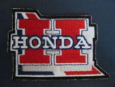 Vintage Honda Motorcycle Biker Vest Jacket Hat Patch Crest Dirt Bike AA