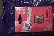 Very rare My Little Pony SPARKLEWORKS? add on link charm for bracelet  NIP