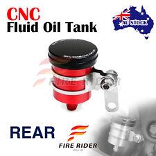 AU Red Fluid Reservoir Rear Brake For Ducati Monster 696 07-12 08 09 10 11