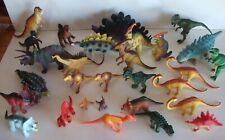 Plastic Dinosaur Toy Figures Prehistoric Play Animals 29 Various Sizes