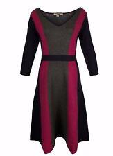 Ex Boden Ladies Darcey Knitted Cotton Blend Dress Size 6 - 14
