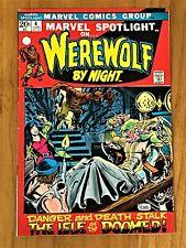 MARVEL SPOTLIGHT #4  WEREWOLF BY NIGHT - MIKE PLOOG!  BRONZE AGE 1972