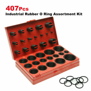 Industrial Rubber O Ring Assortment Kit Set 407 Imperial