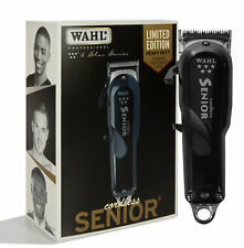 Wahl Professional 5 Star Series Cordless Senior Clipper #8504 – Great for Prof