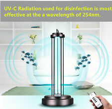 120v Ultraviolet Sterilizing UV Lamp Light Kill 99% Virus Bacteria Mites Germ