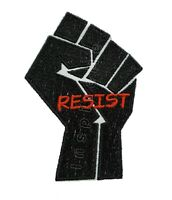 Black Power Fist Resist Embroidered Sew/Iron On Patch Black Lives Matter BLM