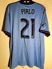 Adidas MLS Jersey New York City FC ANDREA PIRLO BLUE sz XL