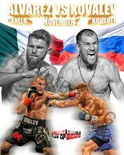 Canelo Alvarez vs Sergey Krusher Kovalev 4LUVofBOXING New Boxing Poster