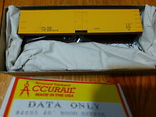 Accurail HO #4895 Data Only (40' Wood Reefer w/Steel Roof) Kit