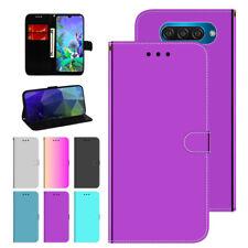 For LG K50 Q60 Flip Magnetic Card Phone Case Pocket Hybrid Stand Wallet Cover