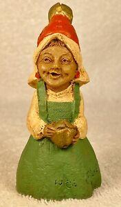 "JINGLE ""I""-R 1985~Tom Clark Gnome~Cairn #1120~Ed #21~Hand Signed~w/COA & Story"