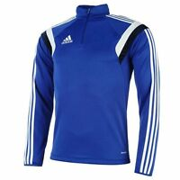 adidas Men's Condivo 14 Blue Climacool Training Football Soccer Half Zip D85443