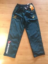 AUSTRALIA WALLABIES 2017 ASICS AUTHENTIC PLAYER ISSUE GEAR PANTS BNWT SMALL