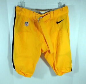 Pittsburgh Steelers Game Issued Yellow Game Pants 42 DP06650