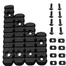 Good RIS Polymer Polymer Rail Section Set for M-LOCK PTS Handguard Black A33C
