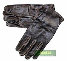 SWEDISH ARMY OFFICERS LEATHER GLOVES (TYPE 2)